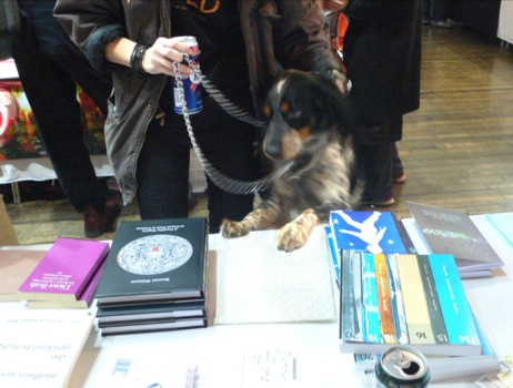Small Publishers Fair Dog